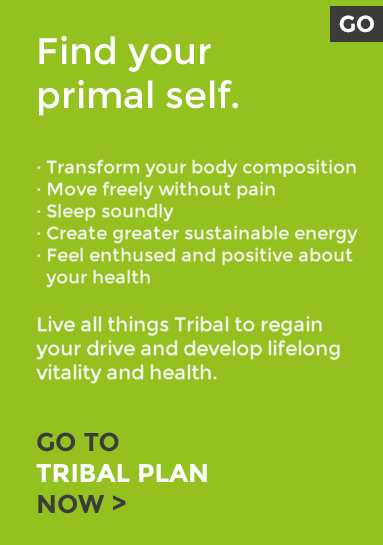 · Transform your body composition · Move freely without pain · Sleep soundly · Create greater sustainable energy · Feel enthused and positive about your health Live all things Tribal to regain your drive and develop lifelong vitality and health.